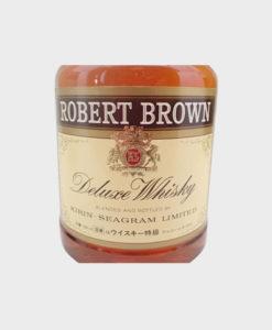 Robert Brown Deluxe Whisky B
