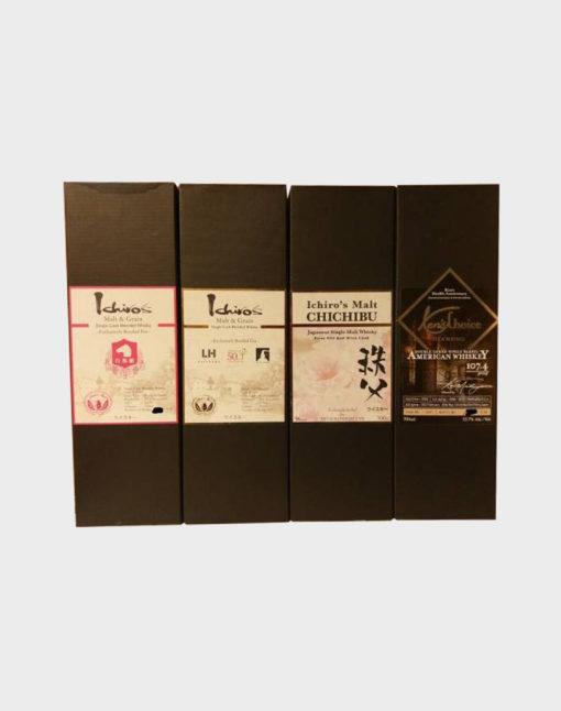 Ichiro's Malt Bourbon, Chichibu and American Whisky Set B