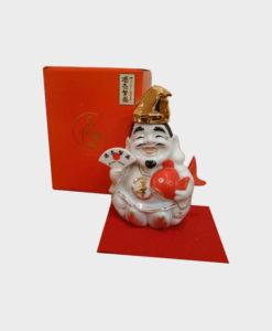 Suntory Whisky Yamazaki Ebisu Pottery Bottle