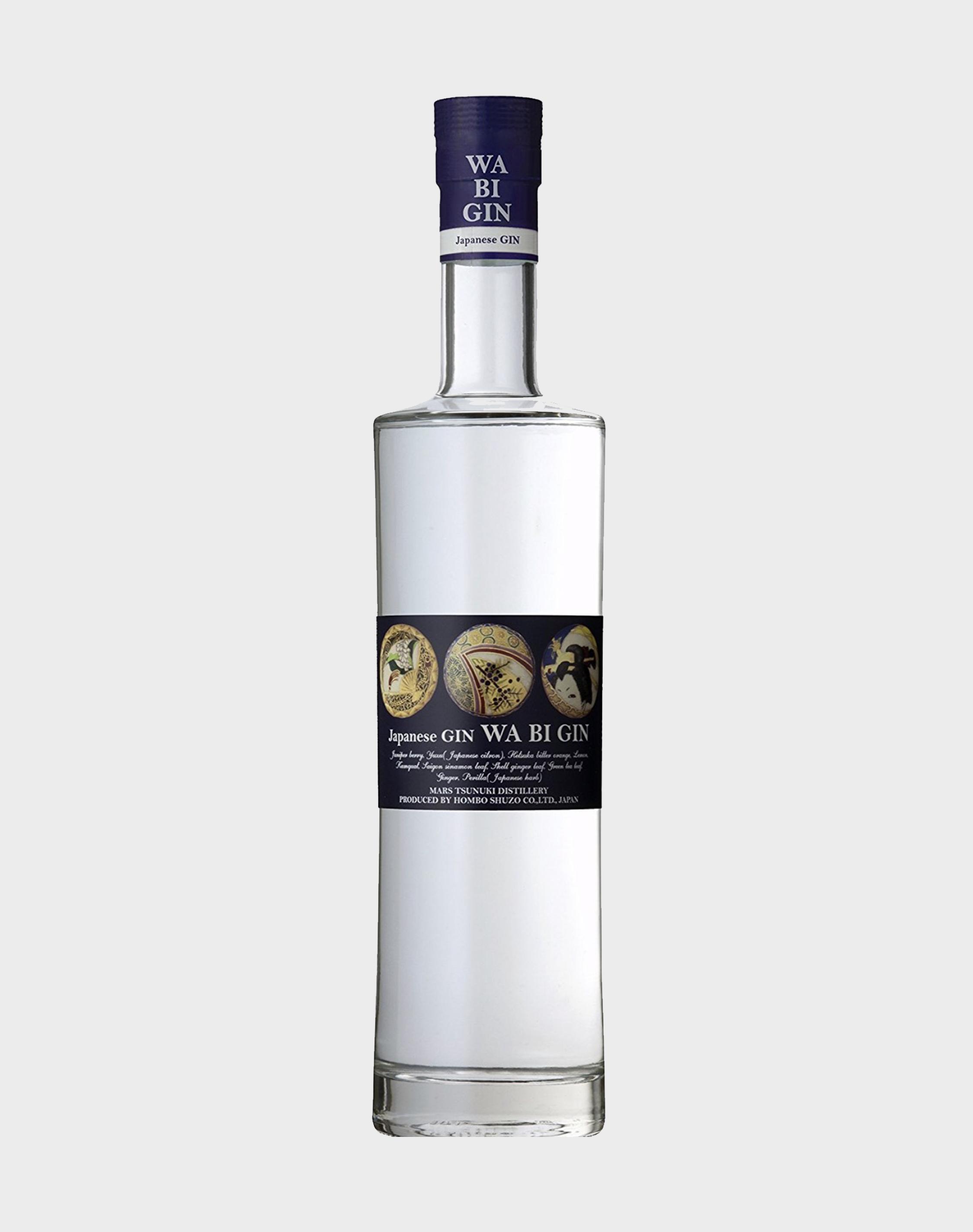 Mars Tsunuki Distillery Wa Bi Gin Japanese Gin Dekantā