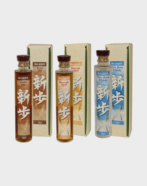 Okayama Distillery Malt Whisky Progress Bottle Set