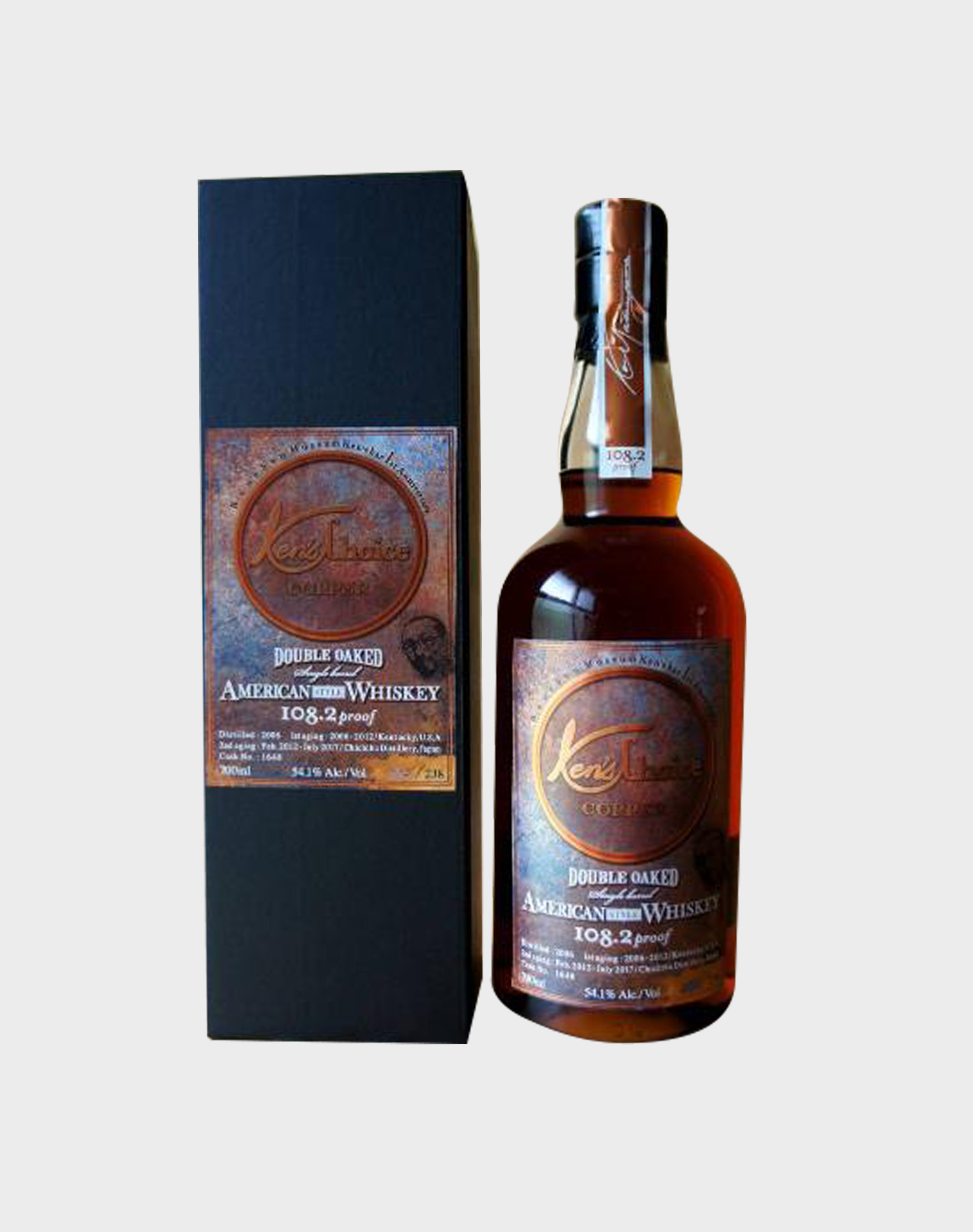 Ichiro's Malt Ken's Choice Copper Double Oak American Style Whisky