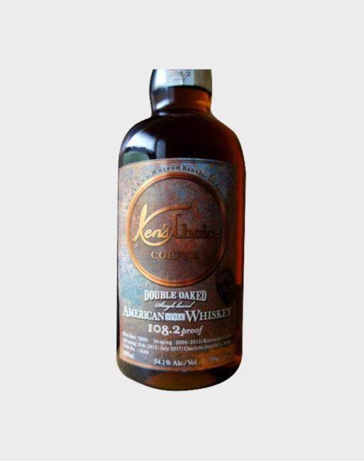 Ichiro's Malt Ken's Choice Copper Double Oak American Style Whisky B