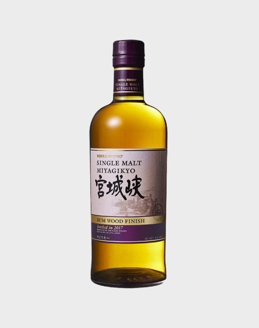 Miyagikyo Single Malt Rum Wood Finish (Pre-Order)
