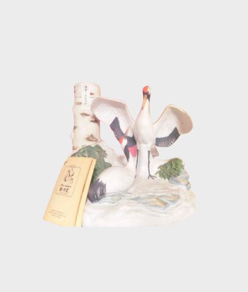 Nikka Crane Ceramic Bottle