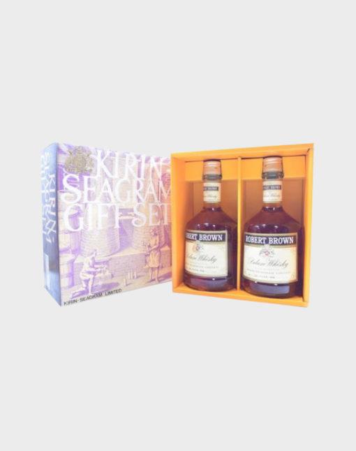 Robert Brown Deluxe Whisky 2 Bottles Set