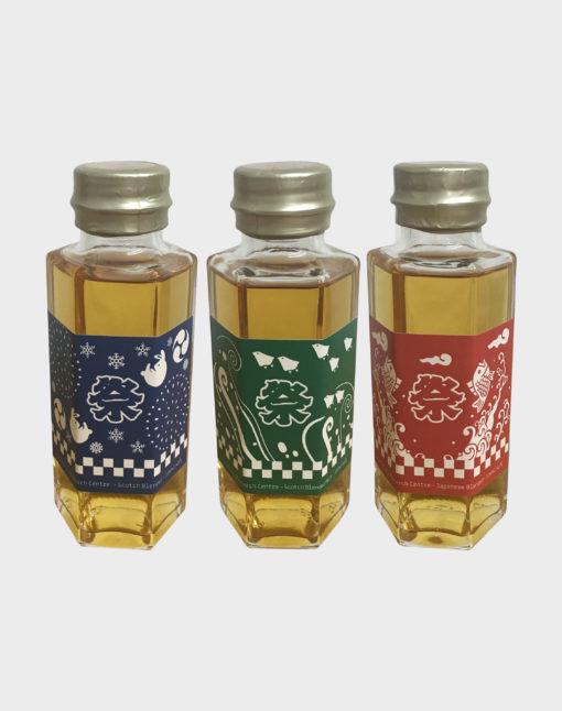 Chichibu 2017 Festival Scotch Blend 100ml Scotch Blend Malt 100ml Japanese Blend 100ml Set