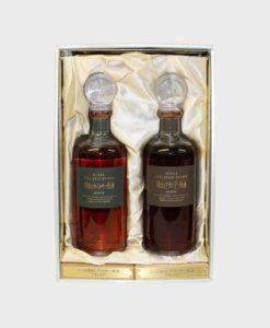 Nikka Pure Malt Whisky Tarudashi Genshu (Set)