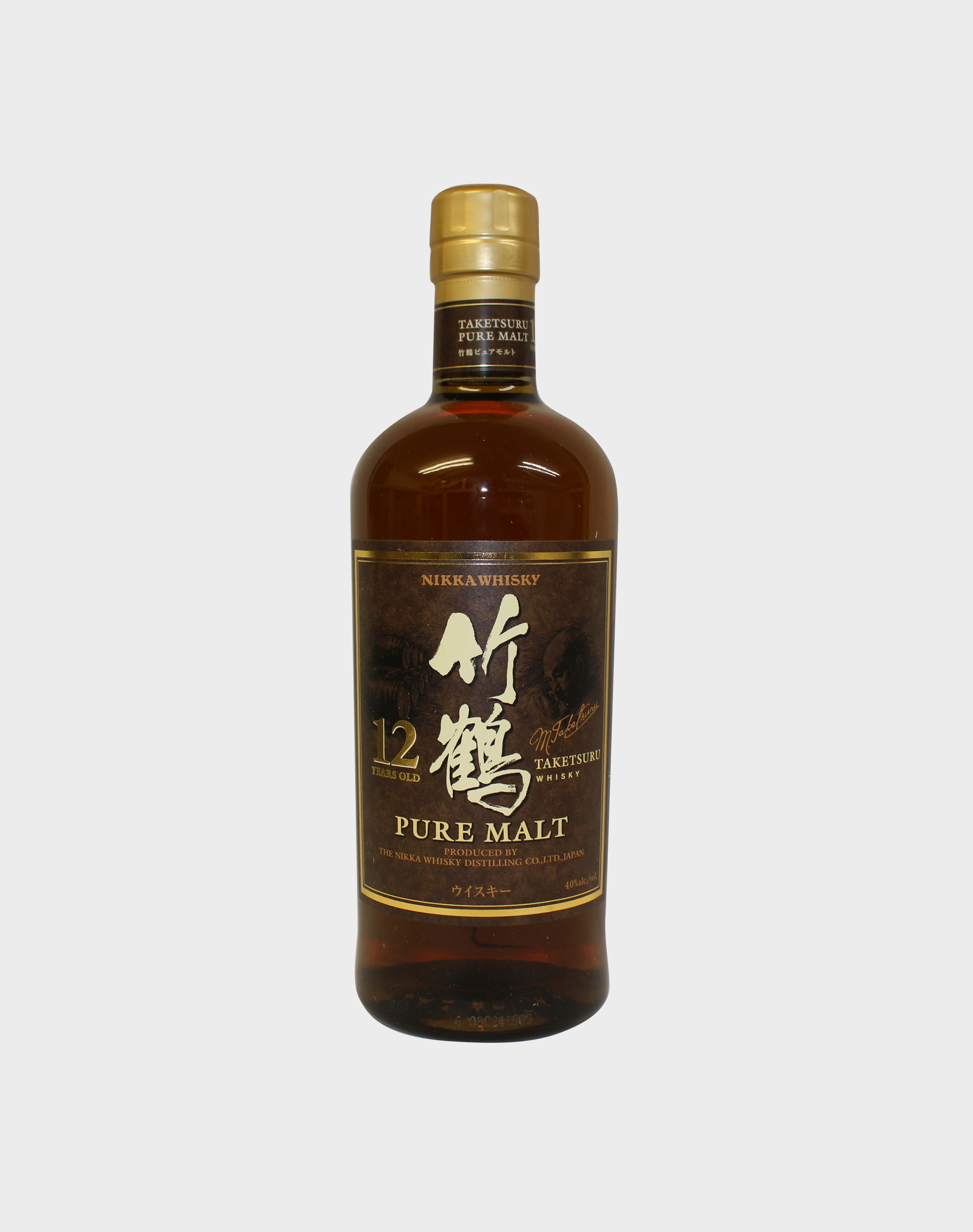 Nikka Taketsuru Pure Malt 12 year Old Whisky