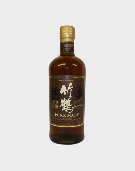 Nikka Taketsuru Pure Malt 12 year Old Whisky (Wooden Box) B