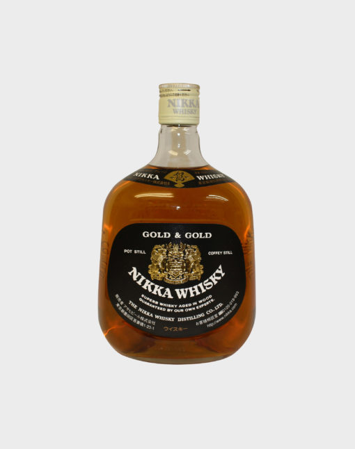 Nikka Whisky Gold & Gold (No Box)