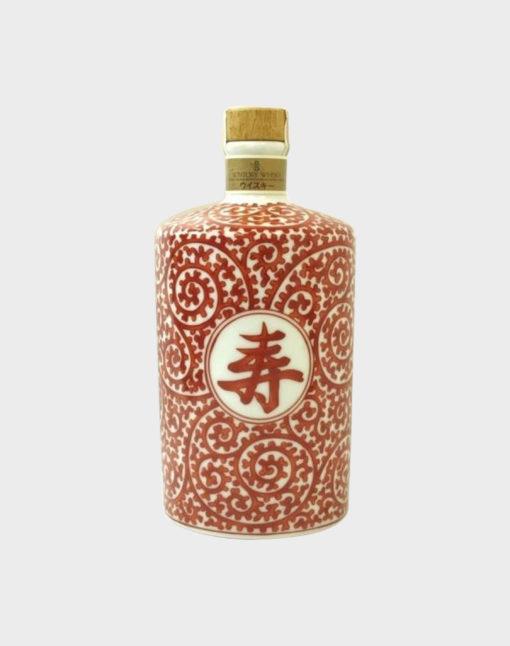 "Suntory Hakushu Pure Malt ""Long Life"" Ceramic Whisky"