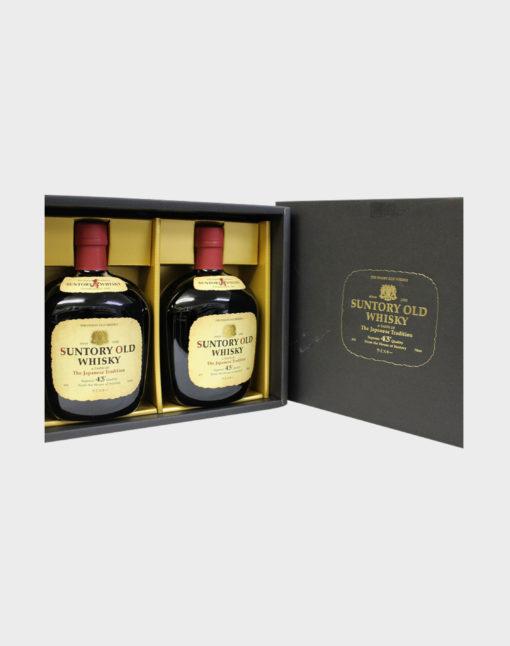 Suntory Old Whisky 2 Bottles Gift Set
