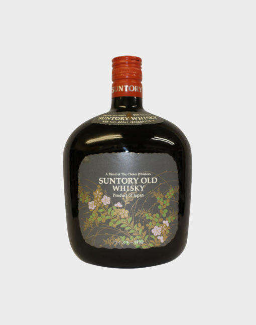 Suntory Old Whisky Flower Label (No Box)
