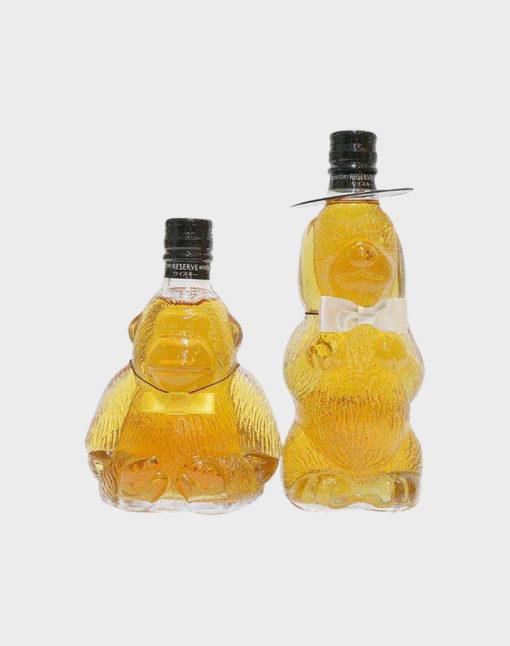 Suntory Reserve Mini Whisky Set - Dog and Gorilla