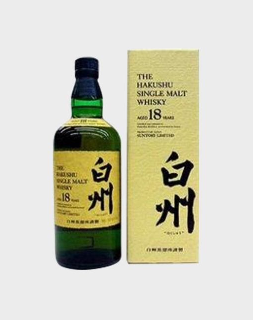 Suntory Single Malt Whisky Hakushu 18 Years