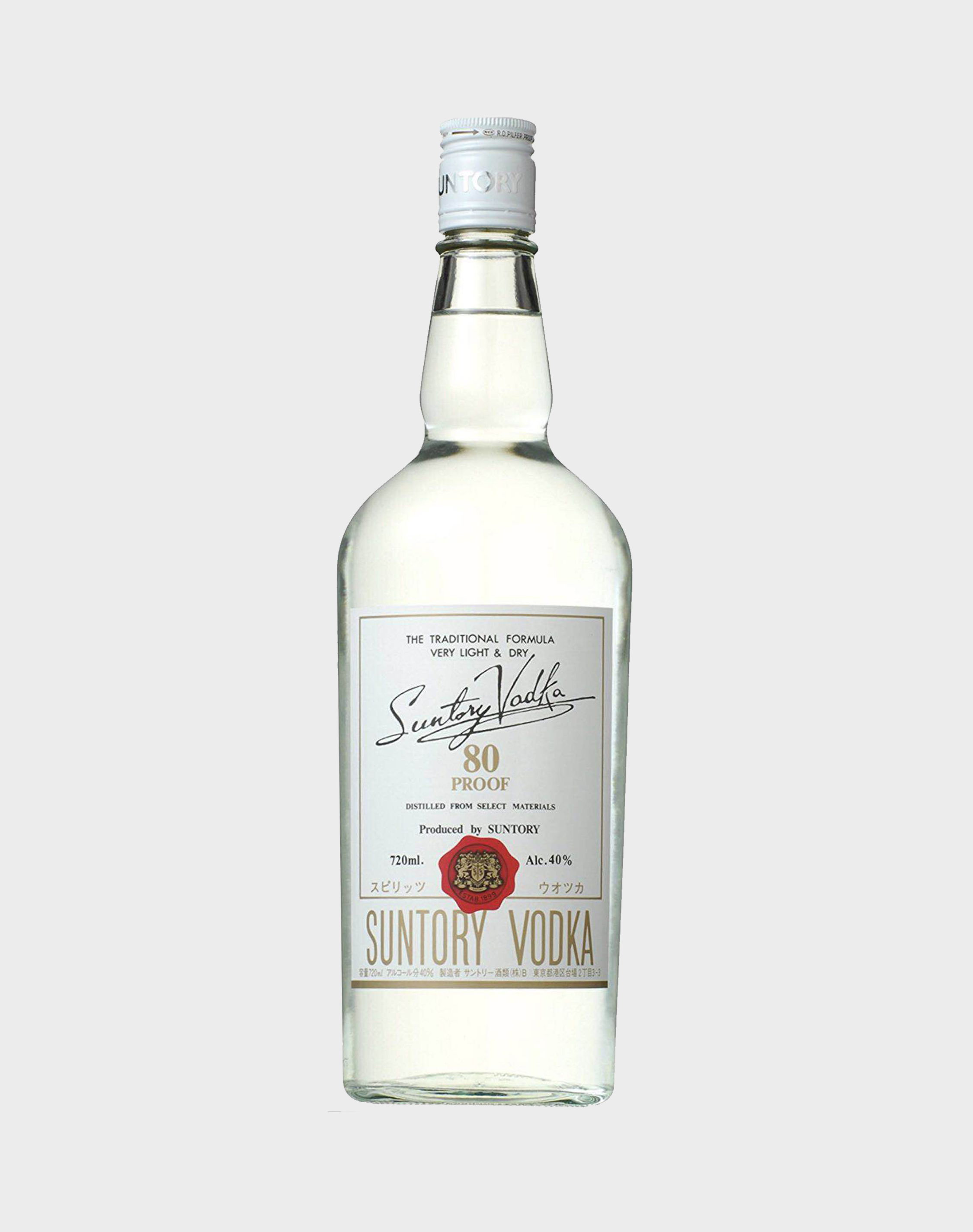 Suntory Vodka 80 Proof
