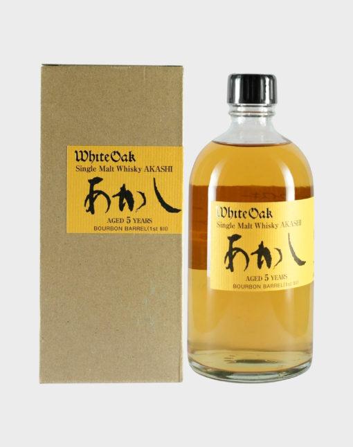 Akashi White Oak Aged 5 Bourbon Barrel (1st Fill)