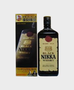 Black Nikka Whisky Rare Old Reprint Edition