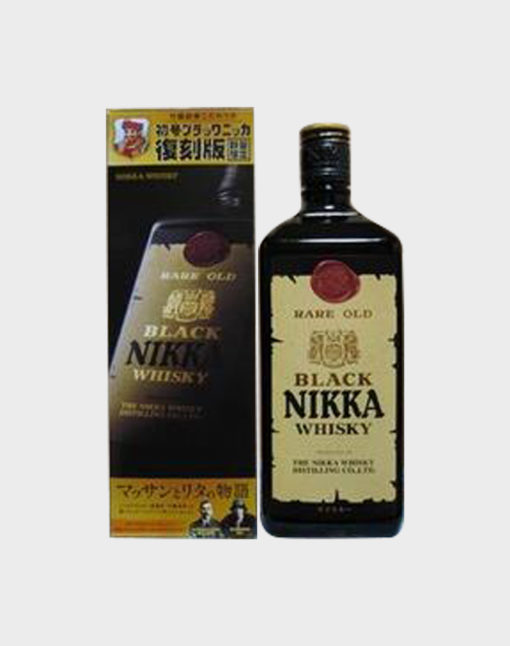 Black Nikka Whisky Rare Old Reprint Edition