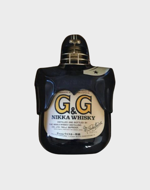 Nikka G & G Taketsuru with Football Bottle Holder – Black