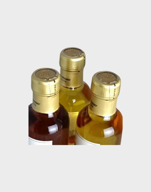 Nikka Miyagikyo Single Malt Set (3 Bottles) 180ml (2)