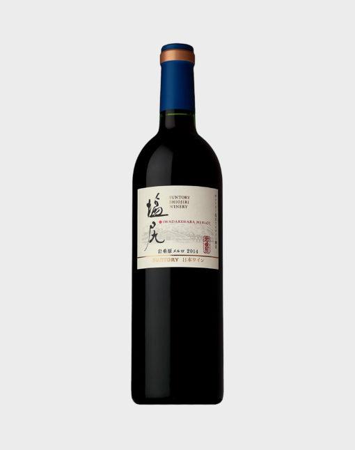 Suntory Shiojiri Winery Iwadarehara Merlot 2014