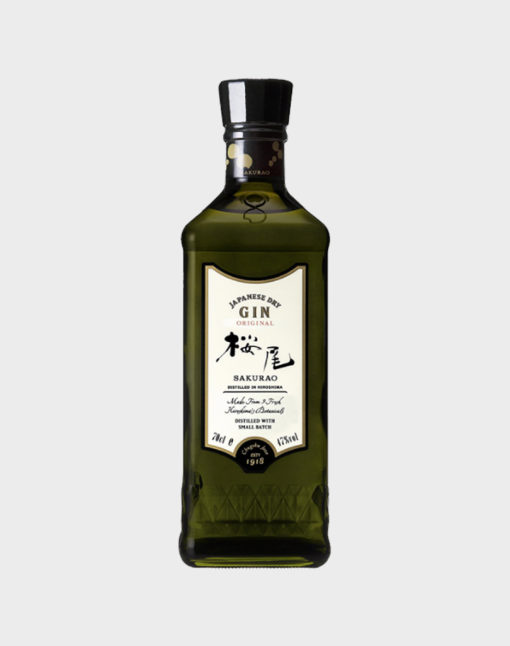 Japanese Dry Gin Original – Sakurao