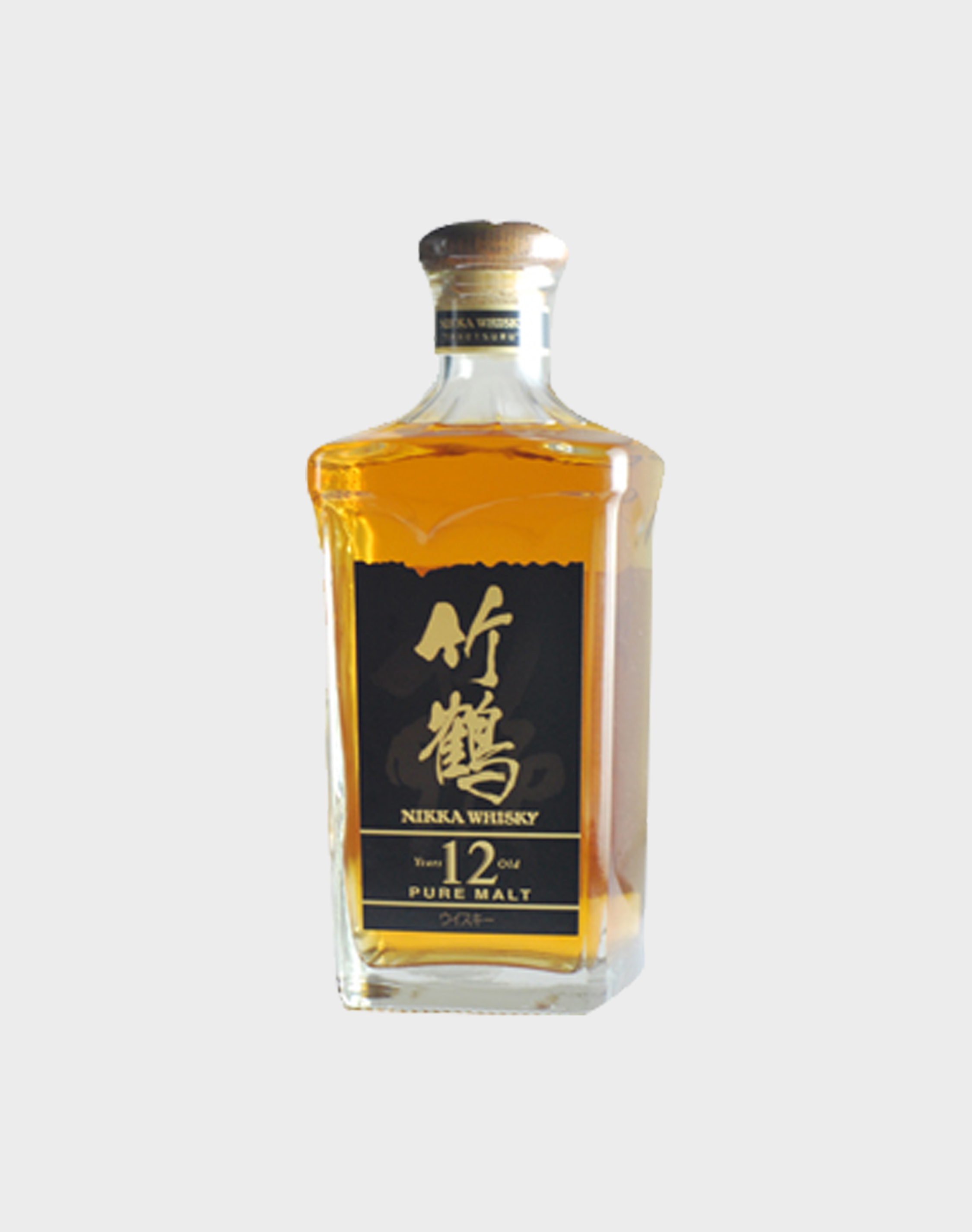 Nikka-Whisky-Pure-Malt-12-Year-Old-Square-Bottle-No-Box