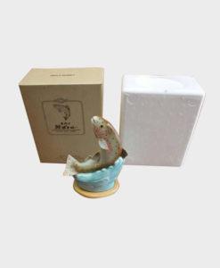 Nikka Trout Ceramic Bottle Masu