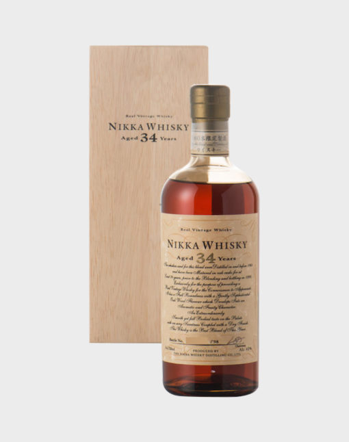 Nikka Whisky 34 Years Old 1998
