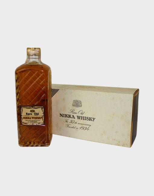 Rare Old Nikka Whisky 50th Anniversary
