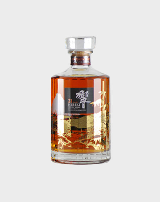 Suntory Hibiki 21 Year Old Whisky Limited Edition Duty Free Release (No Box)