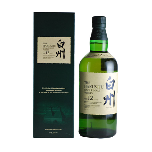 Hakushu 12 Year Old Japanese Whisky