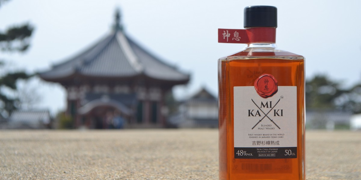 Kamiki - The World's First Japanese Cedar Finished Whisky