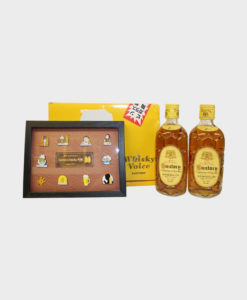 Suntory Very Rare Old Kotobukiya 80th Anniversary with Pin Set