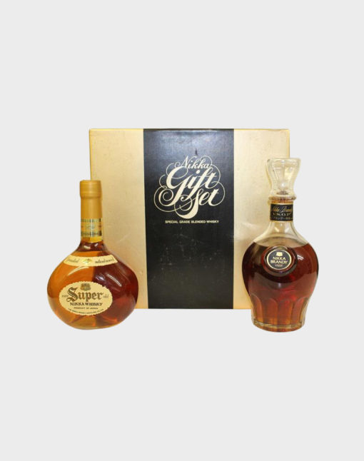Nikka Super Rare Old & Brandy Set