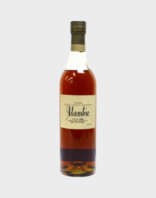 """Nikka """"Alambic"""" Pure Grape Brandy"""