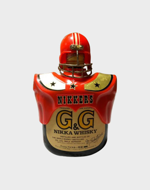 Nikka G&G Taketsuru Blended with American Football Bottle Holder