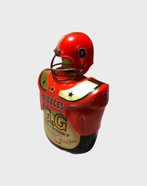 Nikka G&G Taketsuru Blended with American Football Bottle Holder (1)