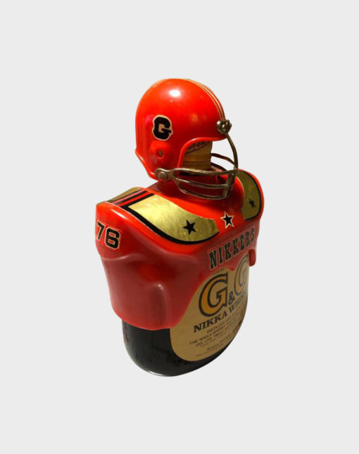 Nikka G&G Taketsuru Blended with American Football Bottle Holder (3)