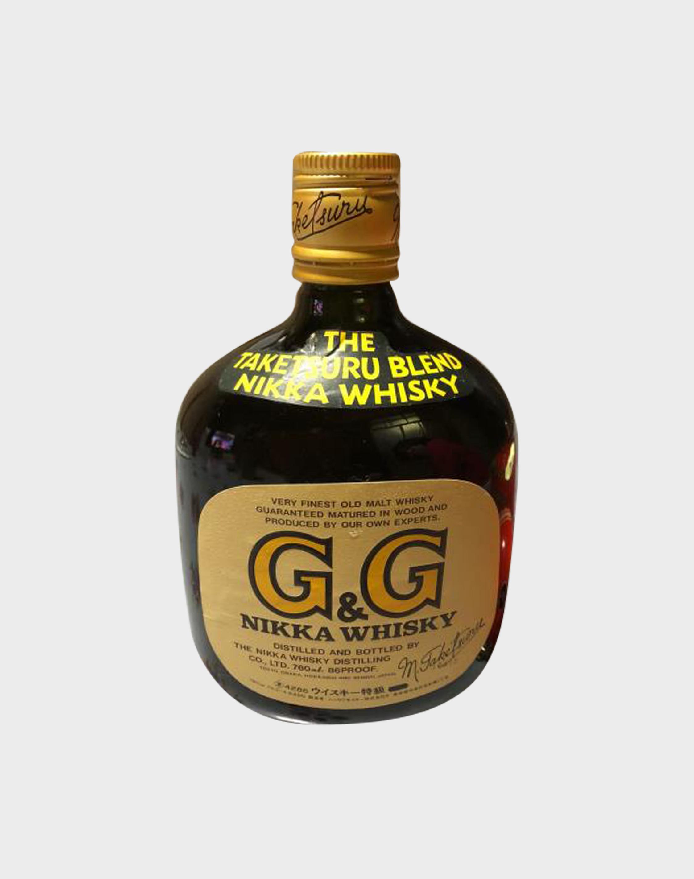 Nikka G&G Taketsuru Blended with American Football Bottle Holder (5)
