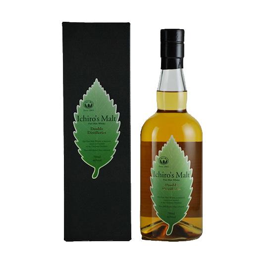 A photo of Ichiro's Malt Double Distilleries Japanese Whisky
