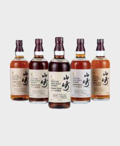 Suntory Yamazaki Sherry Wood 5 Bottles Set