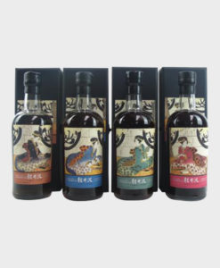 Karuizawa 19992000 Geisha Single Casks 4 Bottles Set