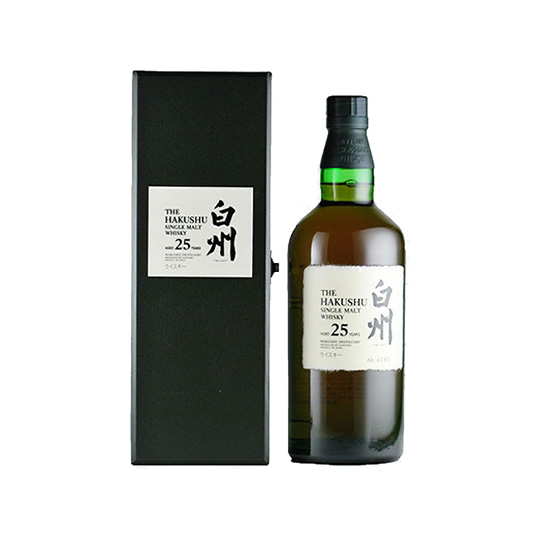 The Hakushu 25 year single malt Whisky