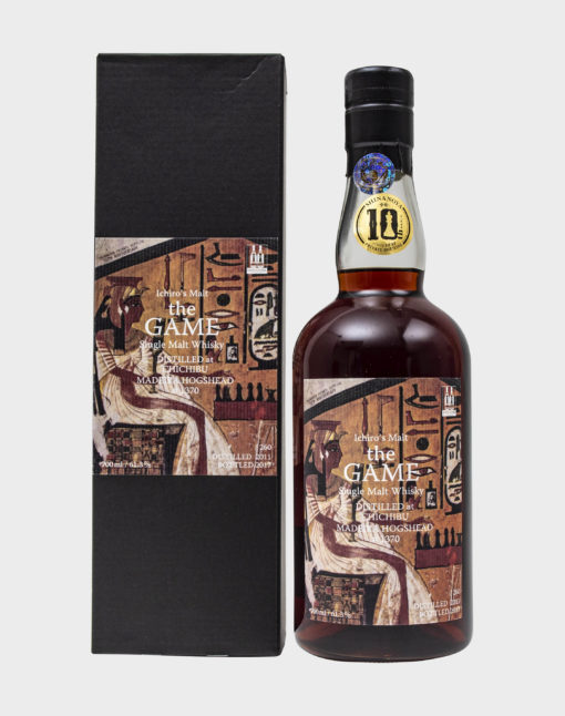 Ichiro's Malt 'The Game' Single Cask#1370 Madeira Hogshead