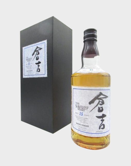 Matsui Whisky – The Kurayoshi Pure Malt Aged 15 Years