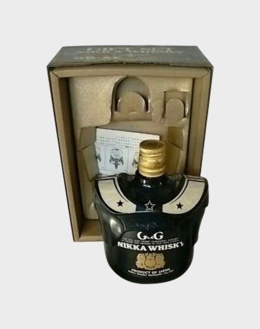 Nikka G & G with Black Football Bottle Holder