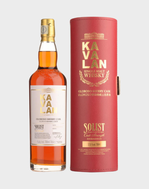 Kavalan Solist Oloroso Sherry Single Cask Strength